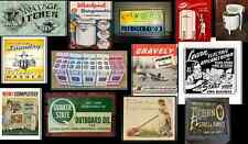 ho scale appliance store building decals