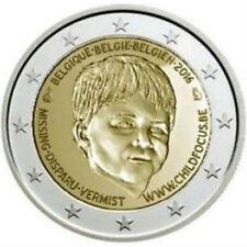 2 Euro commémorative Belgique 2016 - Child Focus Unc