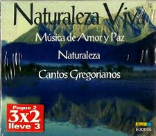 Naturaleza Viva Musica de Amor y Paz  Latin Music 3 CD Pack New