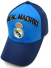 Real Madrid Spain Club Team Navy / Royal Blue / Green Hat Cap Soccer Futbol Logo