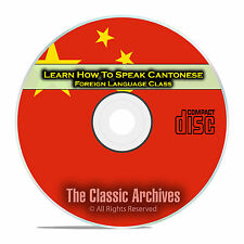 Learn How To Speak Cantonese, Fast Foreign Language Training Course, CD D88
