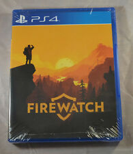 Firewatch Sony Playstation 4 New Factory Sealed Limited Run Games PS4 LR-P17