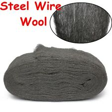Steel Wire Wool Grade 0000 3.3m For Polishing Cleaning Remover Non Crumble Hot!!