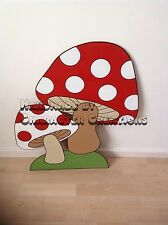 Alice In Wonderland Party Prop Mushrooms