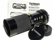 TAMRON ADAPTAL 80-210mm F/2.8-4 lens with adapt. to MINOLTA MD mount camera