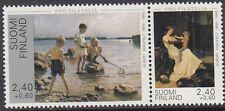 FINLAND :1995 Pro Filatelia pair(Paintings) SG1384-5 MNH