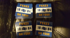 Leicester City Foxes on tour Football Ultras Stickers 25 pack. Brand New. 7x7cm.