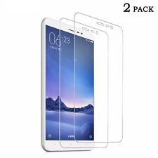 Pack of 2 Tempered Temper Glass Screen Guard Protector For Xiaomi Mi Redmi Note3