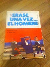 Vintage 1980 ERASE UNA VEZ EL HOMBRE #18 Spanish Magazine Comic Book EL REY SOL