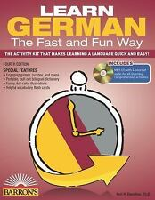 Learn German the Fast and Fun Way : With MP3 CD by Neil H. Donohue (2014,...