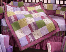 LAMBS & IVY SERENITY Bohemian Chic Boho Jewel Tones girl Crib Bedding purple 3pc