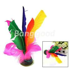Jianzi Hacky Sack Color Feather Chinese Foodball Sport Kid Game Kick Shuttlecock