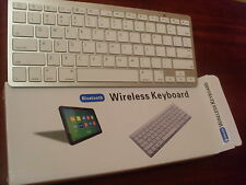 Teclado inalámbrico Bluetooth para APPLE IPHONE 3 4 4G 5S IPAD 2 IPOD iMac AIR