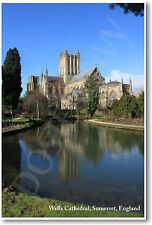Wells Cathedral - Somerset - England - NEW World Travel Poster