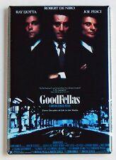 Goodfellas FRIDGE MAGNET (2 x 3 inches) movie poster martin scorsese