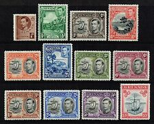 Grenada 1938-50 King George VI set to 10s., MH (SG#152/163a)