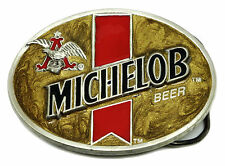 MICHELOB Beer Belt Buckle (Budweiser) Officially Licensed Product C & J Buckles