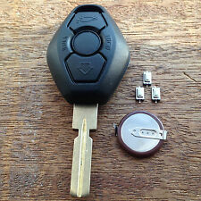 BMW 3 BUTTON Remote Key Fob Case E38 E39 E36 E46 HU58 3 5 7 Z3 FULL REPAIR KIT