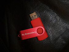 "PES~BROTHER-200 designs On  ""MEMORY STICK~  Laurel Burch Collection 2 ~  #NY"