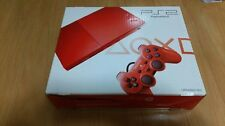 NEW Playstation 2 Red SLIM Console PS2 Japan *EXTREMELY RARE ITEM - GREAT BOX*