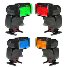 Flash Color Bright Strobist Card Diffuser Light Gel Pop Up Filter for Camera