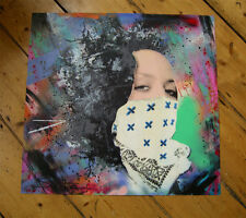 Static Time Bandits Molly OG signed HPM Print + Obey Giant sticker