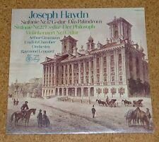 LP Joseph Haydn Violin Concerto Arthur Grumiaux Still Sealed Neu New OVP