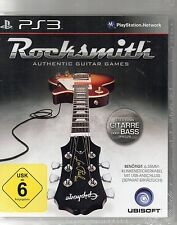 Rocksmith - Authentic Guitar Games - Playstation PS3 - Neu / OVP