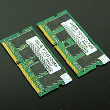 512MB 2 X 256MB PC133 SODIMM SDRAM 144pin memory so-dimm Laptop Notebook 133Mhz