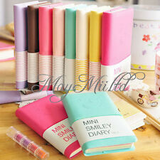New Diary Notebook Memo Cute Charming Portable Smile Smiley Paper Note Book