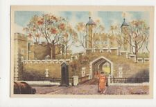 The Tower Of London Laurence Bath Vintage Postcard 433a