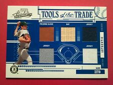 2005 Absolute Tools of the Trade Barry Zito 5 Piece Swatch 02/10  A's