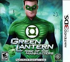 Green Lantern: Rise of the Manhunters (Nintendo 3DS, 2011) Brand New Sealed