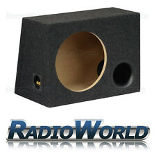 "40L 12 ""MDF porting SUB BOX SUBWOOFER Enclosure BASS Enclosure vuoto Grigio MOQUETTE"