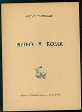 MIEGGE GIOVANNI PIETRO A ROMA CLAUDIANA ANNI '50 TEOLOGIA RELIGIONE