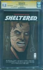 Sheltered 15 CGC 2X SS 9.8 Jack Nicholson Shinning Here's Johnny Phantom Variant