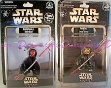 2 ACTION FIGURES STAR WARS WEEKENDS DISNEY DONALD DARTH MAUL SAVAGE OPRESS #0421