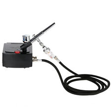 Dual Action Airbrush Spray Gun Air Compressor Kit Art Tattoo Manicure Model Nail