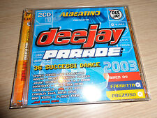 ALBERTINO 2 CD DEEJAY PARADE 2003 BOX 2 CD 36 SUCCESSI DANCE FARGETTA PREZIOSO