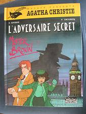 Agatha Christie 2 EO L'Adversaire secret Lefrancq Le Masque
