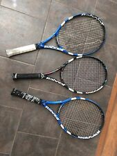 3 Preowned Babolat Pure Drive Tennis Rackets Racquets