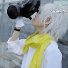 30cm Short Layered Silver White Dramatical Murder DMMD Clear Anime Cosplay Wig