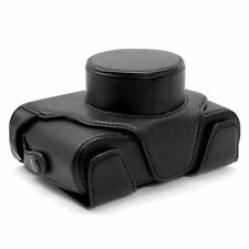 Black PU Leather Camera Case for  Fujifilm Fuji X100 X100T X100s Digital Cameras