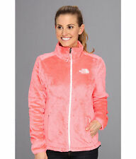 New Womens Ladies The North Face Fleece Full Zip Jacket Osito Pink Small