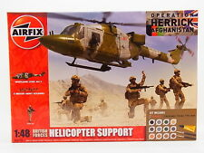 LOT 30908 | AIRFIX A50122 British Forces Helicopter Support 1:48 Bausatz NEU OVP