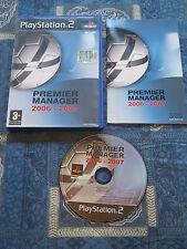 PS2 : PREMIER MANAGER 2006-2007 - Completo e in ottime condizioni!