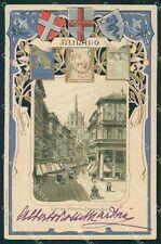 Milano Città Rilievo FORI cartolina XB0069
