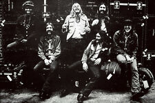 The Allman Brothers Band Classic Rock Star Band Poster 24x36