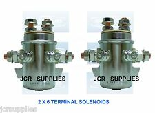 2X  SOLENOIDS 12V TAIL LIFT and WINCH MOTOR SOLENOIDS ref 133616