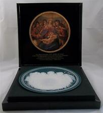 Villeroy & and Boch Phanolith Christmas Plate Mother with Child NEW BH114